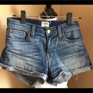 J Crew denim shorts